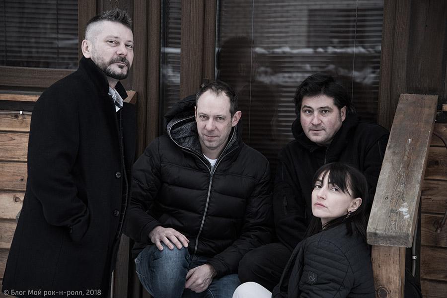 Игорь Пегас, Юрий Змиев (Юрбас), Евгений Ильницкий, Женя Лепокурова